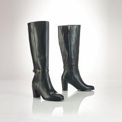 Ralph Lauren - Leather Clare Boot