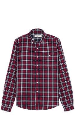 Creep  - Plaid Flannel Button Down Shirt