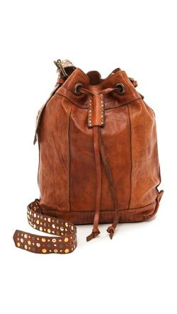 Campomaggi  - Studded Bucket Bag