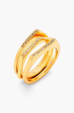 Gorjana  - Mila Shimmer Stackable Rings