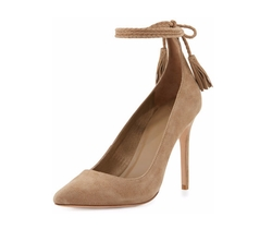 Joie - Angelynn Suede Ankle-Wrap Pump