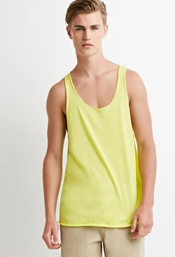 21 Men - Slub Knit Tank Top