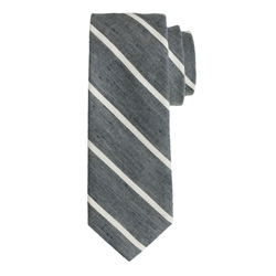 J.Crew - English Linen Stripe Tie