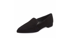 Stuart Weitzman  - Pipelopez Pointed-Toe Loafer