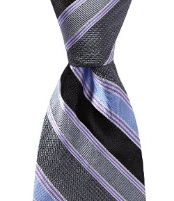 Ted Baker London  - Loud Medium Stripes Silk Necktie