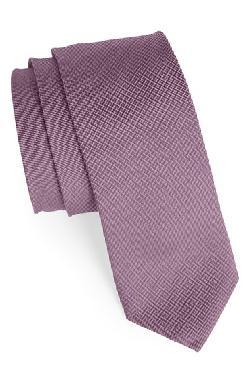 1901  - Woven Silk & Cotton Tie