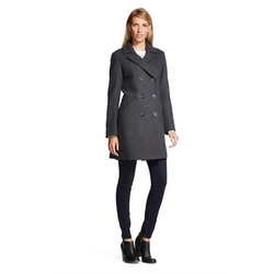 Merona - Double Breasted Wool Blend Coat