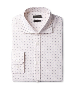 Z Zegna - Polka Dot Dress Shirt
