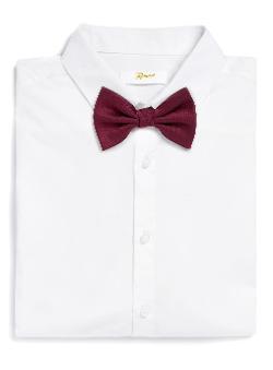 Topman - Port Textured Bow Tie