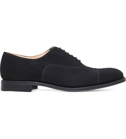 Church - Dubai Suede Oxford Shoes