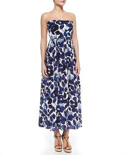 Shan   - Matilde Floral-Print Convertible Coverup Dress
