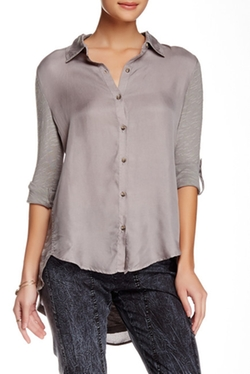 XCVI - Priscilla Button Down Blouse