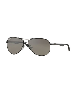 Ray-Ban  - Steel Aviator Sunglasses