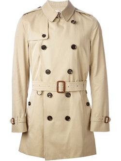 Burberry - Belted Trench Coat