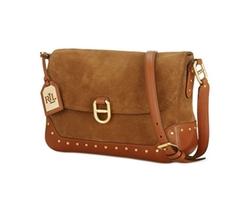 Lauren Ralph Lauren  - Saddle Brook Suede Crossbody Bag