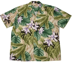 Paradise Found  - Orchid Jungle Shirt