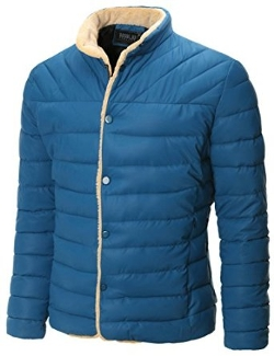 Doublju - Padded Quilted Sherpa Lined Bodywarmer Puffer Active Jacket