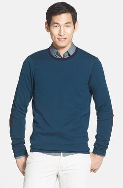 Vince  - Long Sleeve Wool & Cashmere Crewneck Sweater