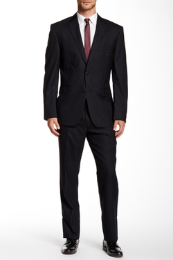 Vince Camuto - Two Button Notch Lapel Wool Suit