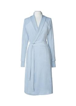 Nine Space  - Luxurious Organic Cotton Velour Bathrobe