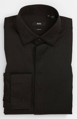 Boss Hugo Boss  - Marlyn Sharp Fit Tuxedo Shirt