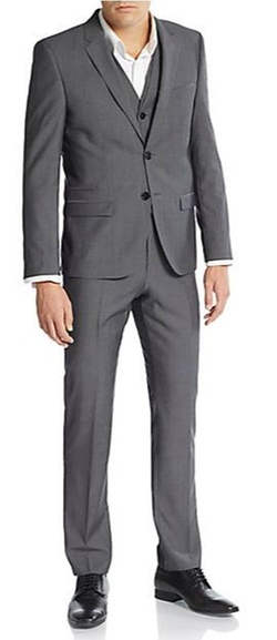 Hugo Hugo Boss  - Adanz/Weyll/Hamen Tonal Striped Three-Piece Suit