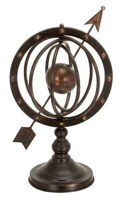 Woodland Imports - Benzara Metal Armillary Sphere Globe