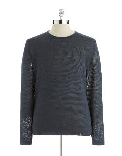 Calvin Klein - Long Sleeved Crew Neck Sweater
