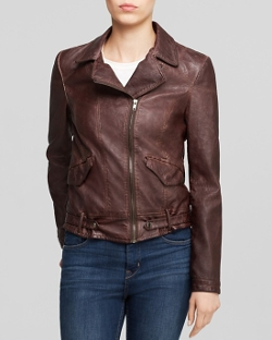 Kloth Dean - Faux Leather Moto Jacket