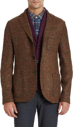 Harris Wharf  - Donegal Two-button Sport Coat