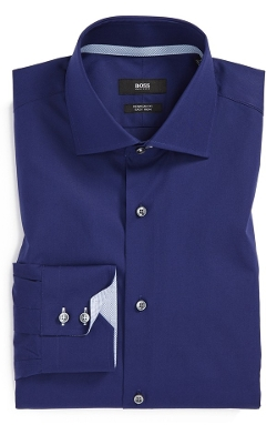 Boss Hugo Boss - Easy Iron Solid Dress Shirt