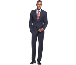 Michael Kors - Navy Peak-Lapel Classic-Fit Suit