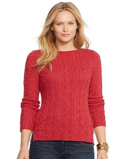Ralph Lauren - Cable-knit Cotton Sweater