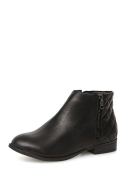 Dorothy Perkins - Quilted Zip Ankle Boots