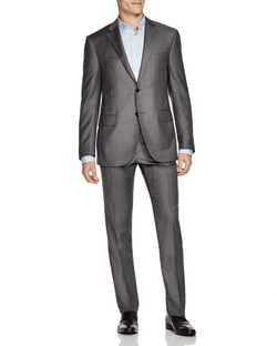 Corneliani - Sharkskin Regular Fit Suit