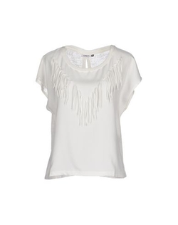 Only - Womens Short Sleeve Sweater