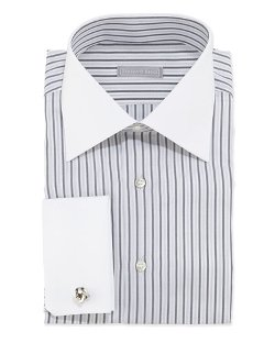 Stefano Ricci   - Striped Dress Shirt