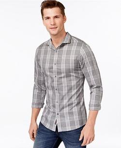 Michael Kors - Alden Slim-Fit Checked Shirt