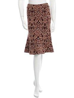 Diane Von Furstenberg - Ornate Print Skirt