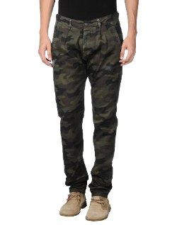 Macchia J - Camouflage Casual Pants
