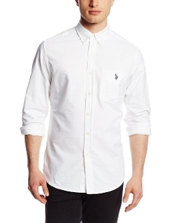 U.S. Polo Assn. - Solid Oxford Button Down Shirt