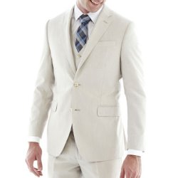 J.F. J Ferrar - Regular Fit Bone Suit Jacket