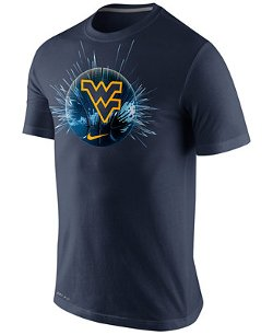 Nike  - West Virginia Mountaineers Basketball Player T-Shirt