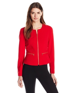 Calvin Klein - Collarless Jacket
