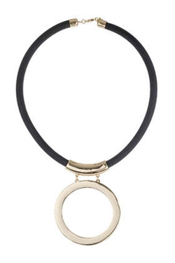 Topshop - Circle Pendant Necklace