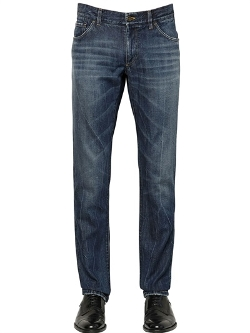 Dolce & Gabbana  - Fit Washed Soft Denim Jeans