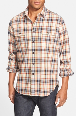 Grayers - Slim Fit Heritage Flannel Sport Shirt