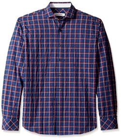 James Campbell - Atias Plaid Sport Shirt