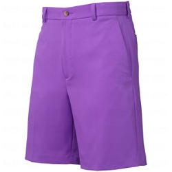 Oxford Golf - Mens Flat Front Microfiber Shorts
