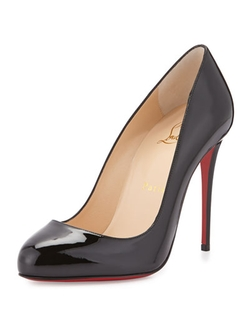 Christian Louboutin	  - Dorissima Patent Red Sole Pumps